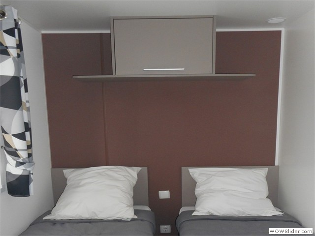 Chambre lits individuels